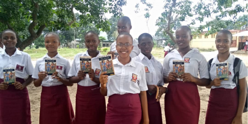 RETECH Foundation Launches 18 Book Clubs in FGGC Abuloma.
